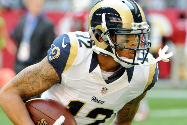 Report: Stedman Bailey Suspended for Four Games