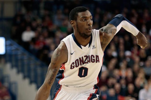 Report: Gonzaga's Gerard Coleman to Transfer for Senior Year