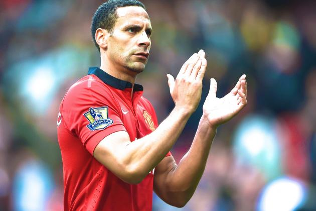 Rio Ferdinand Will Leave Manchester United Following 12 Years at Old Trafford