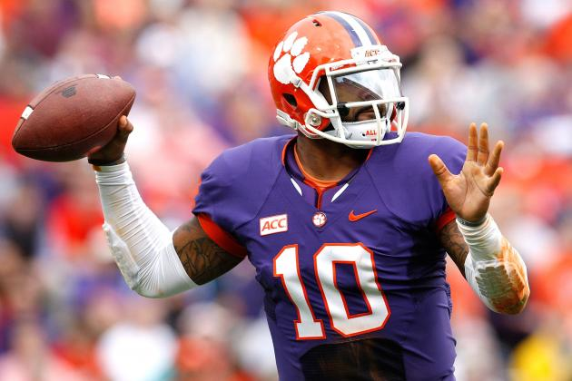 An in-Depth Look at New York Jets' Most Intriguing Selection, Tajh Boyd