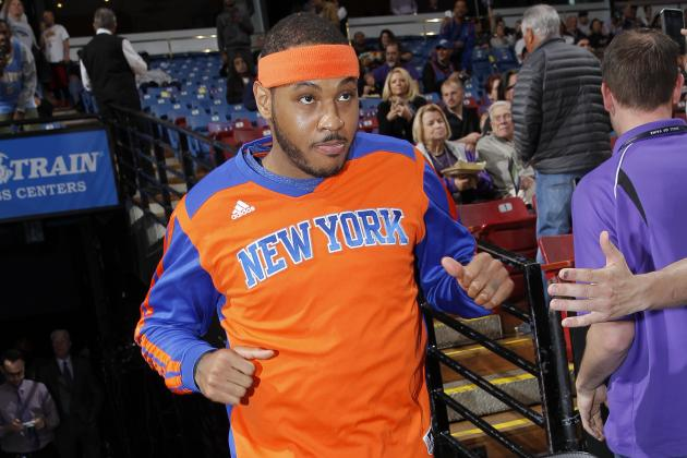 Should NY Knicks Be Exploring Trade Options for Carmelo Anthony?