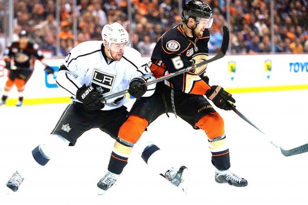 Los Angeles Kings vs. Anaheim Ducks Game 5: Live Score and Highlights