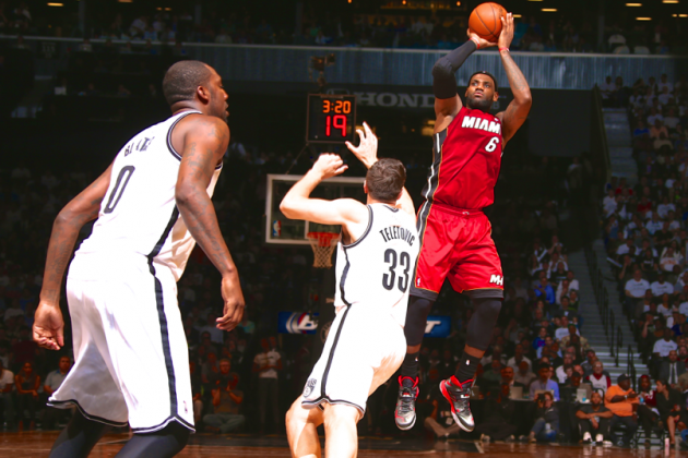 Heat vs. Nets: Game 4 Score and Twitter Reaction from 2014 NBA Playoffs