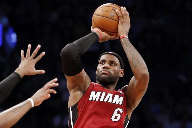 NBA Playoff Schedule 2014: Latest Postseason Bracket and TV Info