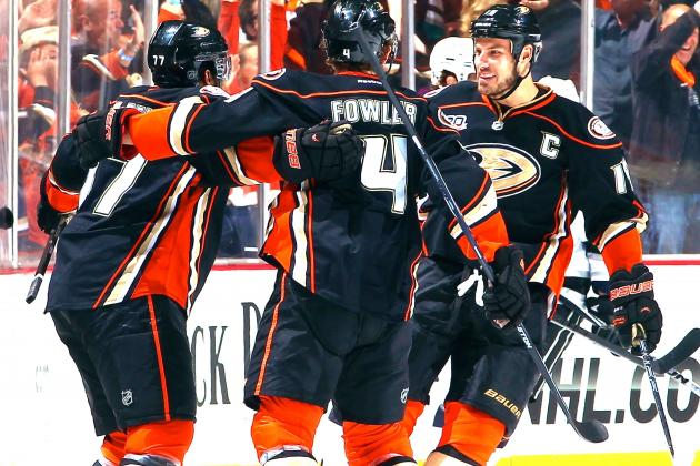 Anaheim Ducks' Drama in the Past After 3rd Straight Win over L.A. Kings