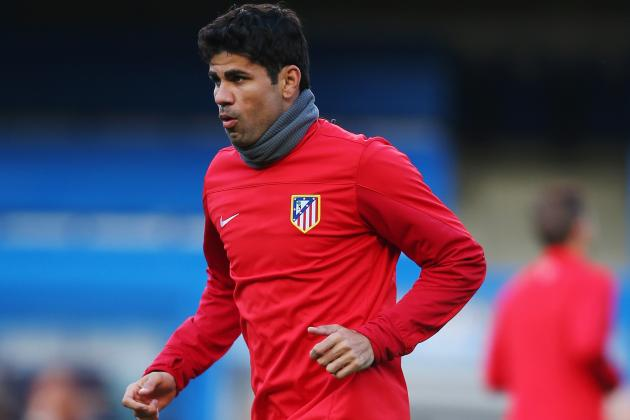 Chelsea Transfer News: Diego Costa the 1st of 2 Stars Wanted by Jose Mourinho