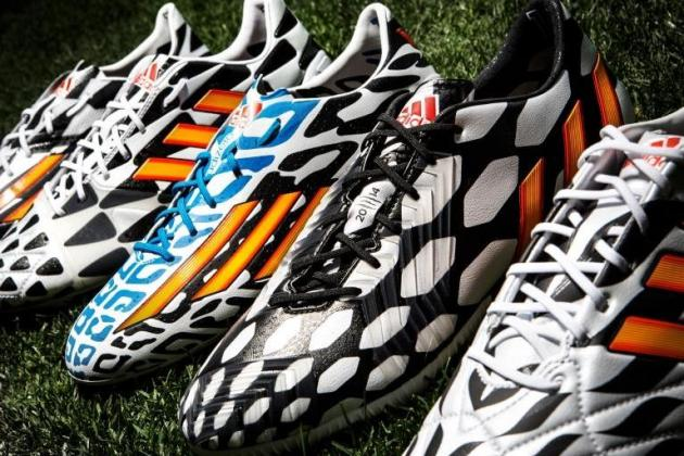 Adidas Unveil Battle Pack Boots for World Cup Stars Suarez, Ozil, Robben & Messi