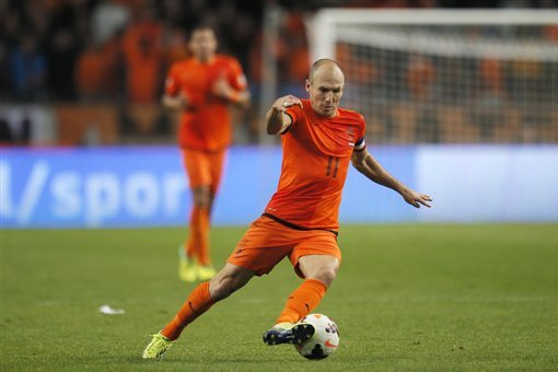 Netherlands World Cup Odds Place Oranje in Middle of Brazil 2014 Pack