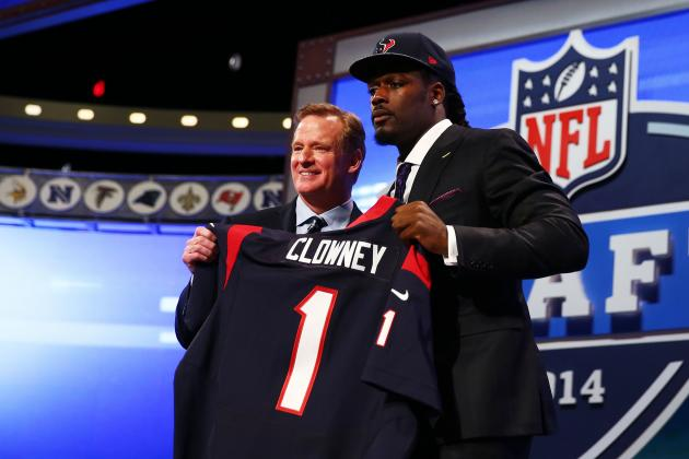 NFL Draft Grades 2014: Scores and Quick Takes for Each Team's Overall Results