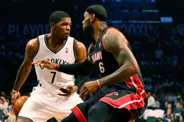 Joe Johnson Accuses LeBron James of Flopping