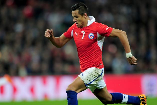 Chile World Cup Roster 2014: Full 30-Man Squad and Starting 11 Projections