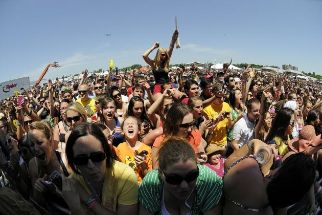 Preakness Infield 2014: Performers List, Activities Schedule and Events Lineup