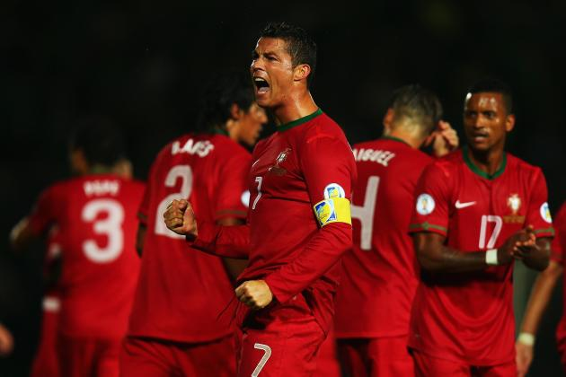 Portugal World Cup Roster 2014: Full 30-Man Squad and Starting 11 Projections