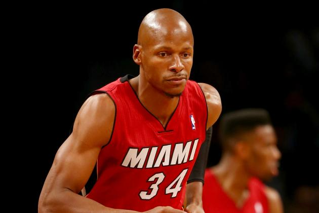 Ray Allen Enjoying Last Laugh Over Kevin Garnett and Paul Pierce