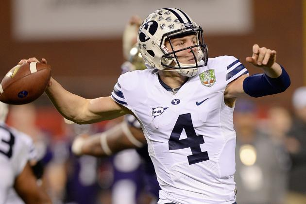 HILL LEADS THIN BYU QB CORPS into 2014