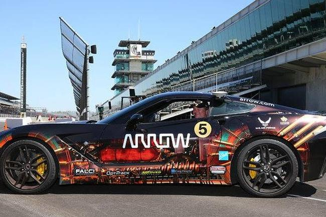 Paralyzed Race Car Driver Will Steer Modified Corvette Using His Head