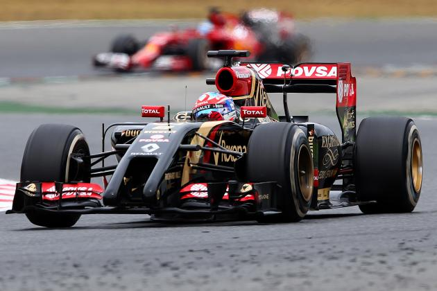 Grosjean the Star of Spanish GP