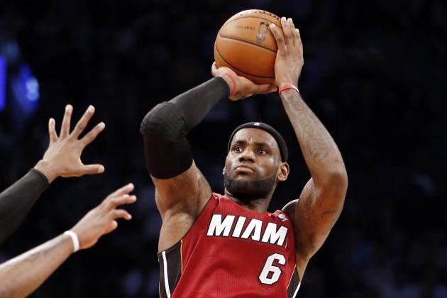 LeBron James Sets Miami Heat Single-Game Playoff Scoring Record