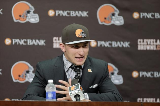 Browns Have Right Idea, Mediocre Execution in Handling  Johnny Manziel Spotlight