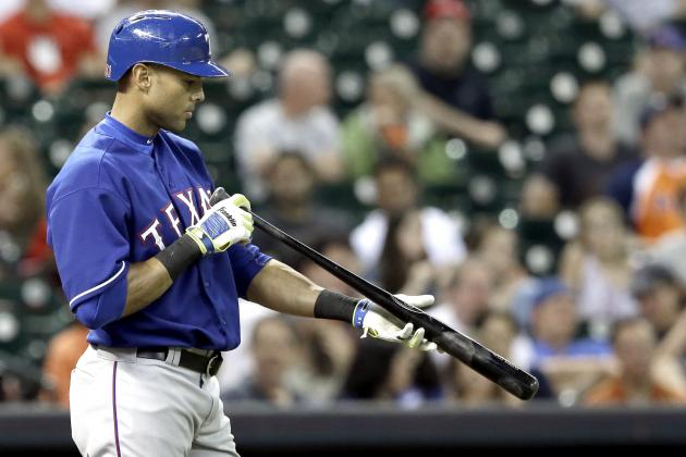 Rangers Give Alex Rios 'Gift' After He Strikes out Four Times