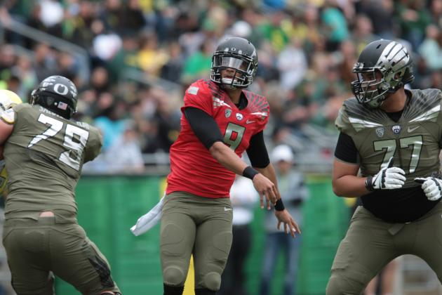 Oregon Football: Breaking Down Marcus Mariota's Place on 2015 NFL Draft Board
