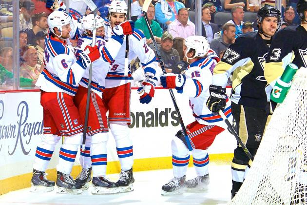 Rangers vs. Penguins: Game 7 Score and Twitter Reaction from 2014 NHL Playoffs