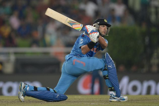 Yuvraj Singh's 9 Sixes vs. Delhi Daredevils in IPL 2014: The Message Is Clear