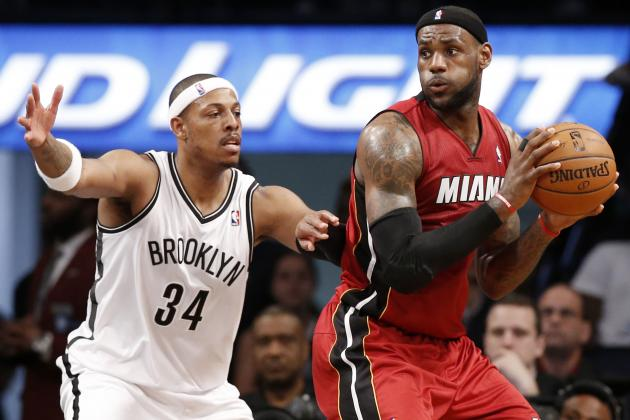 LeBron James Making Laughing Stock of Rivalry with Paul Pierce