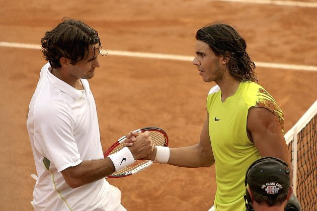Remembering Rafael Nadal and Roger Federer's Classic Match at 2006 Rome Masters