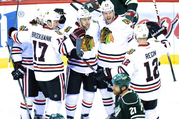 Chicago Blackhawks vs. Minnesota Wild Game 6: Live Score and Highlights