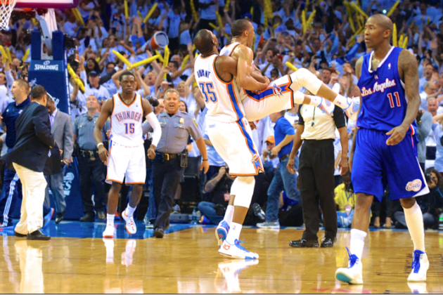 Clippers vs. Thunder: Game 5 Score and Twitter Reaction from 2014 NBA Playoffs