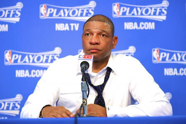 Doc Rivers Goes on Heated Rant About Game 5 Missed Call, Instant Replay
