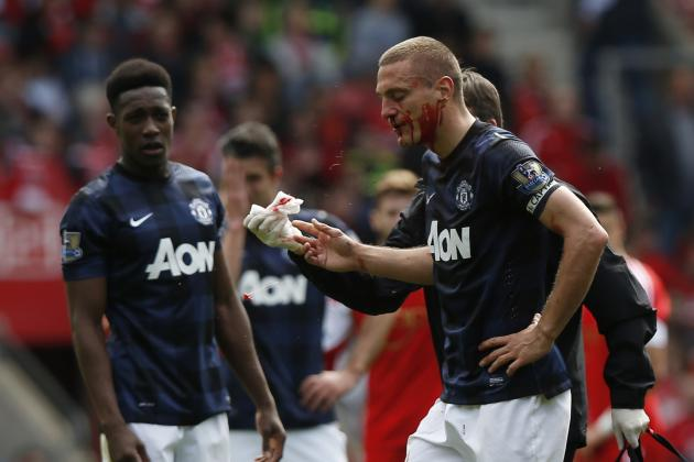 Nemanja Vidic Reveals Manchester United Disharmony, Confirms David Moyes Issue
