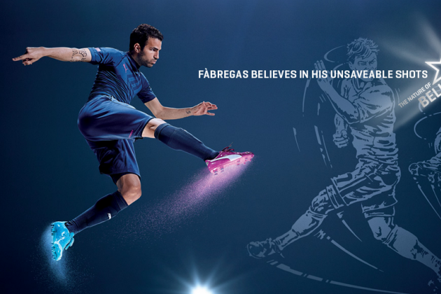 Puma Launch EvoPOWER World Cup Boots with Mario Balotelli, Cesc Fabregas
