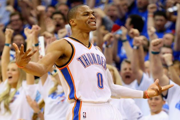 Volatile Russell Westbrook Will Define Oklahoma City Thunder Playoff Run