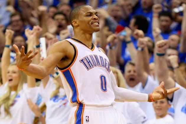 Volatile Russell Westbrook Will Define Oklahoma City Thunder Playoff Run