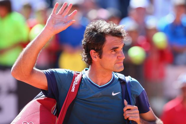 Roger Federer vs. Jeremy Chardy: Score and Recap from 2014 Rome Masters