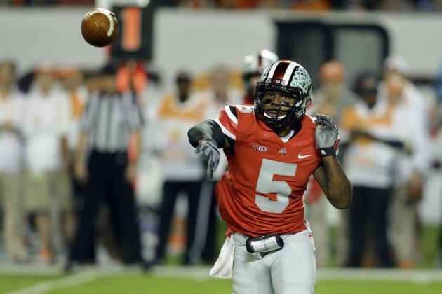Predicting Where Braxton Miller Will Land on 1st 2015 NFL Draft Big Boards