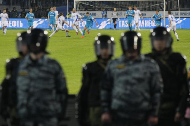 Zenit St Petersburg Sanctioned with 3-0 Loss, Fined for Abandoned Match
