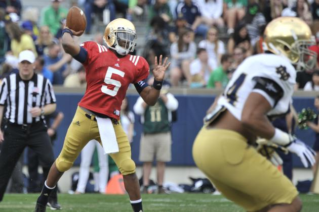 Brian Kelly Doesn't Want to Play Two QBs, but Here's Why It Could Work