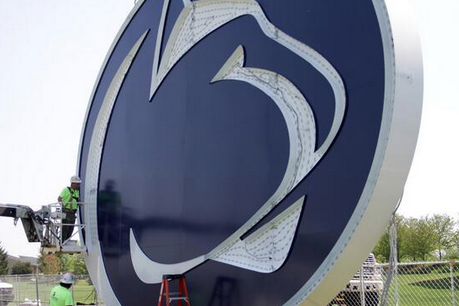 Photo: New PSU Scoreboard Features Huge Nittany Lion Logo