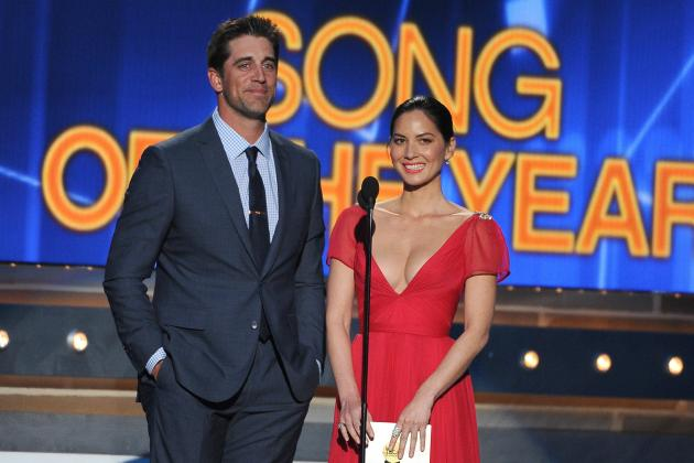 Packers Star Aaron Rodgers Reportedly Dating 'The Newsroom's' Olivia Munn