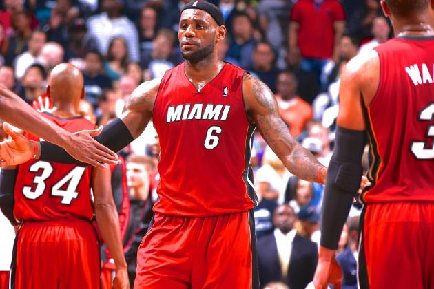 How Much of the Miami Heat Is LeBron James Carrying This Postseason?