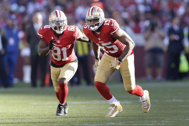 San Francisco 49ers: Breaking Down the Wide Receiver Position Heading into 2014