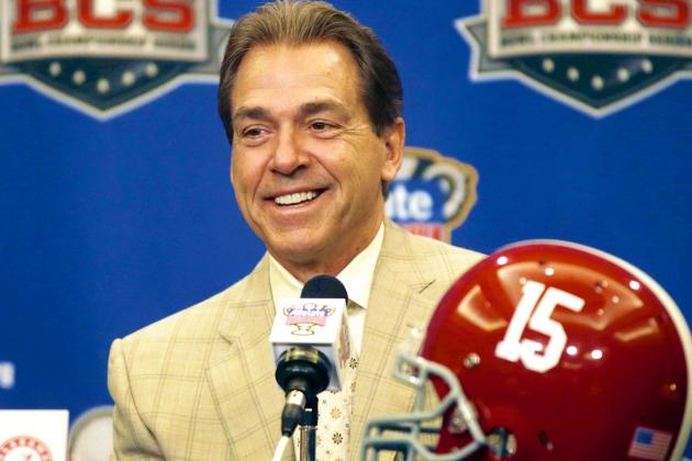 Nick Saban Is on the Right Track with Proposal to Change Bowl Selection Process