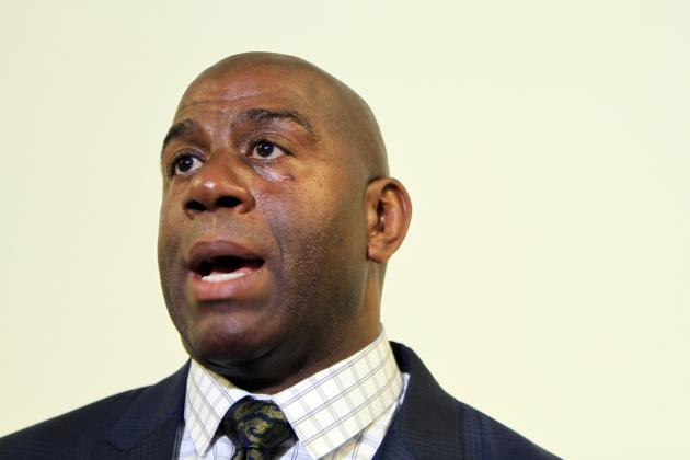 Magic Johnson Speaks with Anderson Cooper on Donald Sterling's Recent Comments