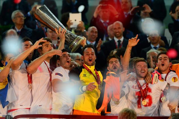 Twitter Reacts to Sevilla Defeat of Benfica in Europa League Final