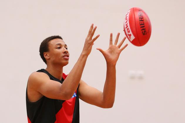 Report: Boston Celtics Are 'Really Big' on Australian Point Guard Dante Exum