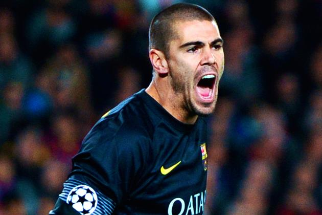 Victor Valdes Announces Barcelona Exit in Open Letter to Club and Fans