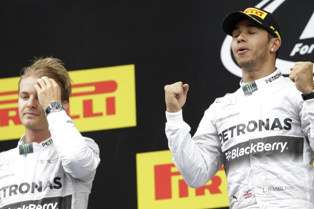 Data Analysis: Was Nico Rosberg Really Quicker Than Lewis Hamilton in Spain?
